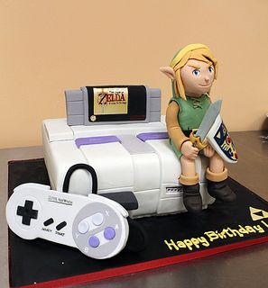 Legend of Zelda Super Nintendo Cake
