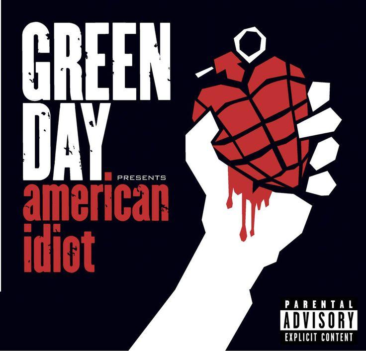 "Nombre: ""American Idiot "" de ""Green Day"", año 2004."