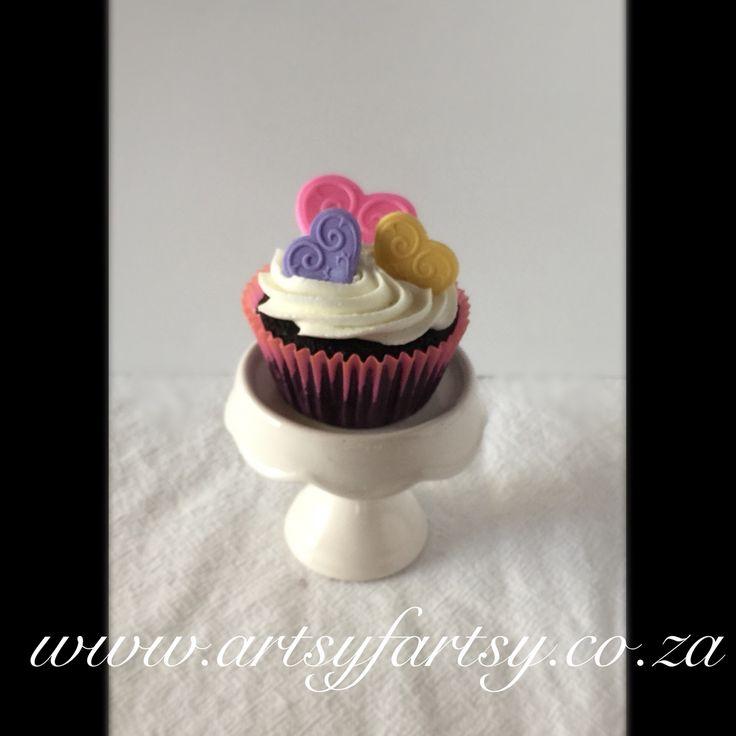 Hearts Cupcake #heartscupcake
