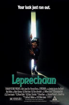Leprechaun Movie Poster Standup 4inx6in