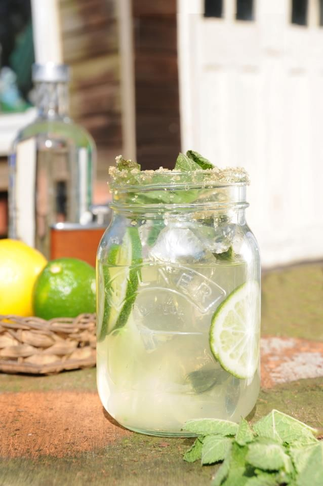 It's National Mojito Day, and Kilner Jars make the best cocktail glasses - they're strong enough to hold up to some serious muddling.