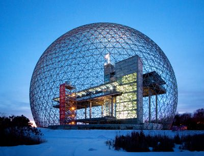 Biosph re d 39 environnement canada ancien pavillon des for Architecture japonaise moderne