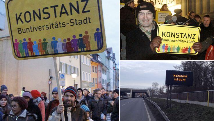 Buntiversitäts-Stadt – Für eine Kultur der Anerkennung und gegen Fremdenfeindlichkeit und Rassismus.