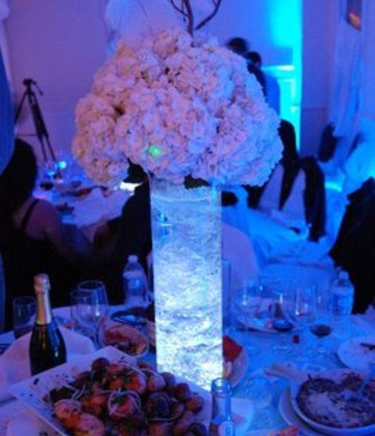 Hydrangea Centerpiece Wedding Hydrangea Led Hydrangea