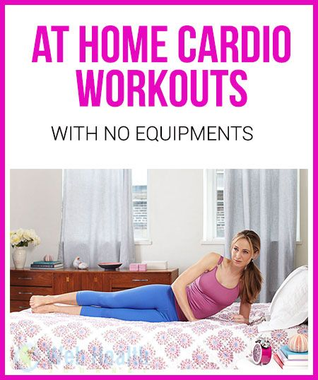 At Home #Cardio Workout with No Equipment.