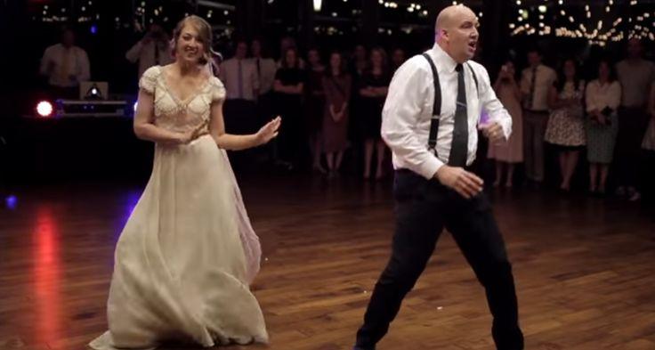 VIDEO. Cette danse père-fille de mariage va vous mettre de bonne humeur !