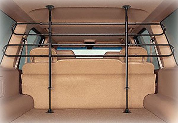 Highland Universal Vehicle Pet Barrier: Highlands Pet Barrier Gently keeps your pet in the cargo area of your minivan or SUV Sleek...