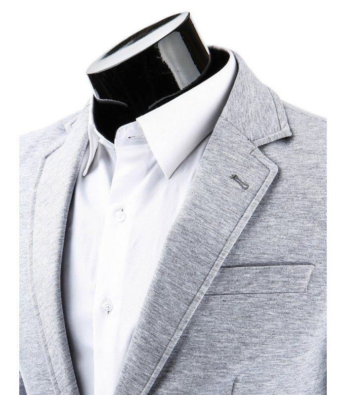 Pánske šedé sako