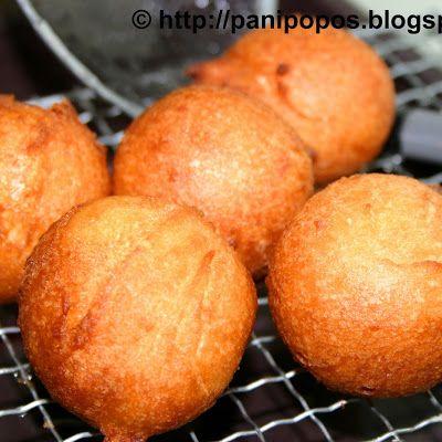 Auntie Luci's panikeke lapotopoto (Samoan/Tongan round pancakes) @keyingredient #breakfast