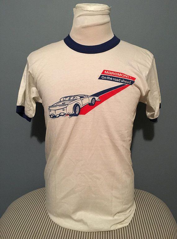 Multi Colored Logo Adult Ringer T Star Trek Shirt