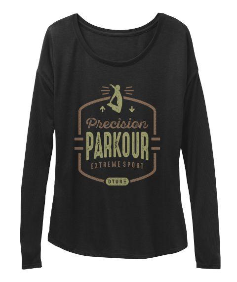 Parkour T Shirt Black T-Shirt Front