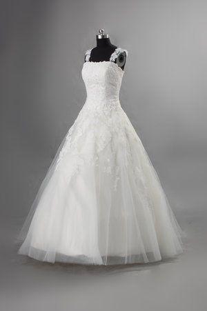 Brudklänning med spets HD0035