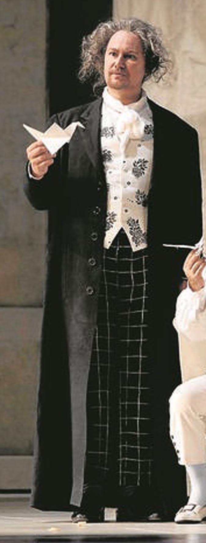 Ruggero Raimondi, costumi di Renata Schussheim, regia di Emilio Sagi, Teatro Real, Madrid, 2005.