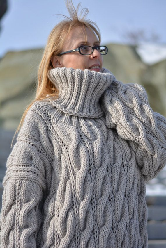 TO ORDER hand knitted wool sweater cable pullover by Dukyana