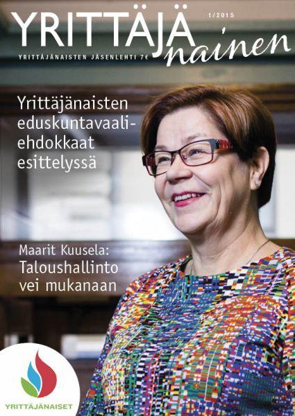 http://www.yrittajanaiset.fi/yrittajanainen/ Yrittäjänaisten jäsenlehti