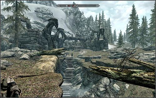 Location type: dungeon - [1] North-west of Skyrim - p.1 - World maps - The Elder Scrolls V: Skyrim - Game Guide and Walkthrough (game pressure, 01/17)