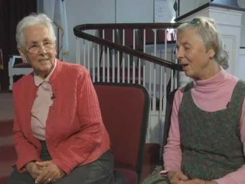 The Von Trapp family sisters give an interesting insight into their history.  (Their interview begins approx. 1 minute into the video)