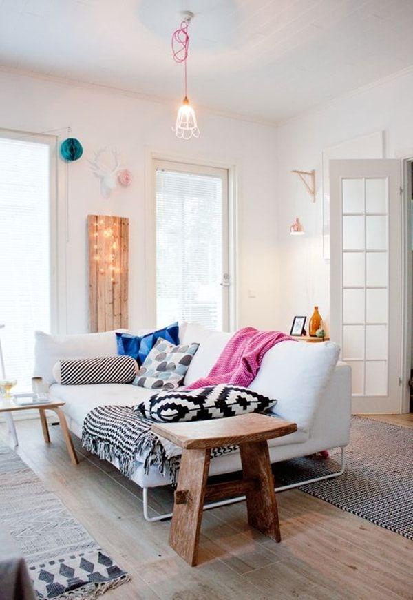 decoracin de salas con textiles