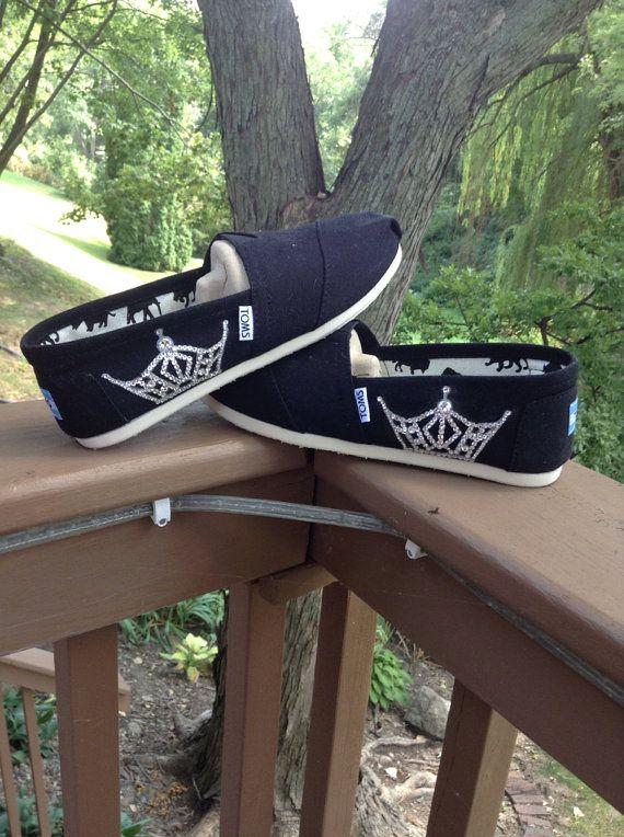 Miss America Crown Toms -Swarovski- including shoes - READ DESCRIPTION