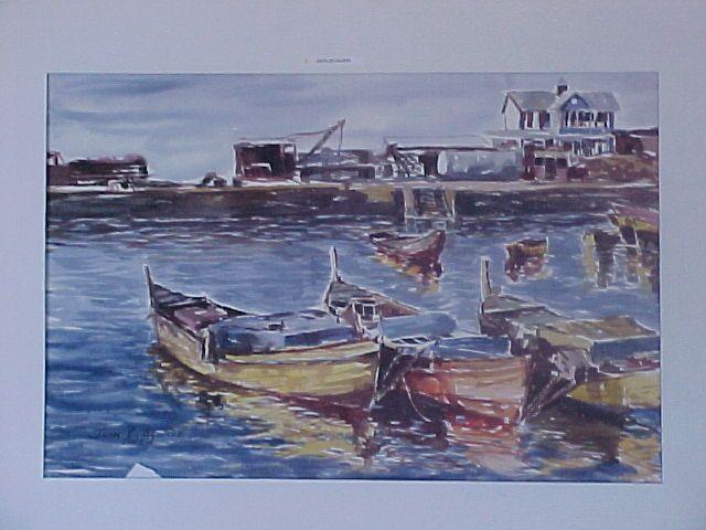 Puerto de Caldera, 1990.