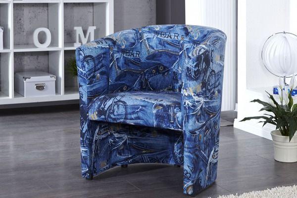 Fotel Denni Jeans