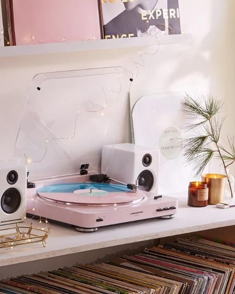✧pιnтereѕт: MarhyaJs✧ Audio-Technica X UO AT-LP60 Vinyl Record Player - Urban Outfitters