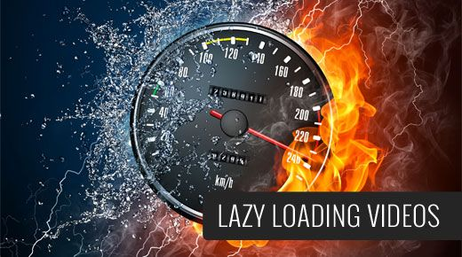 Want to add lazy loading for YouTube videos? Simple tutorial on how to easily add lazy loading for videos in WordPress.