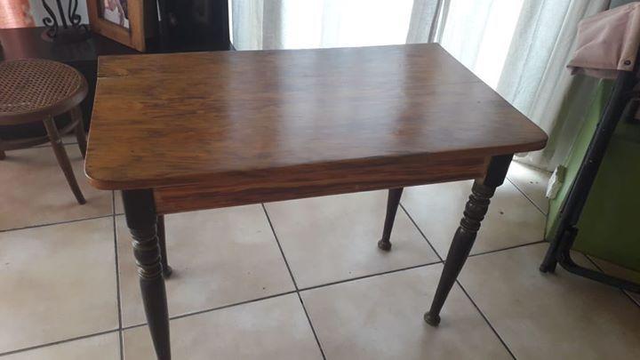 Geelhout En Stinkhout Tafel 1mx500 Dining Room Furniture Home