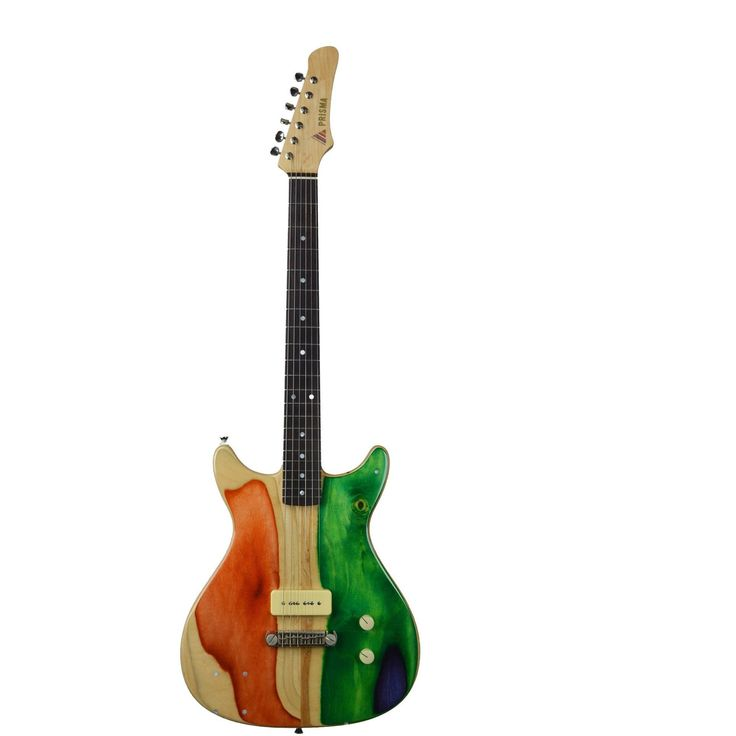 """Prisma guitars """"The Syndicate""""Built for simplicity, this guitar is one of three we produced for a true """"Rock N Roll"""" type of person. Plug in and play. Specs: -Maple neck w/rosewood fingerbo"""