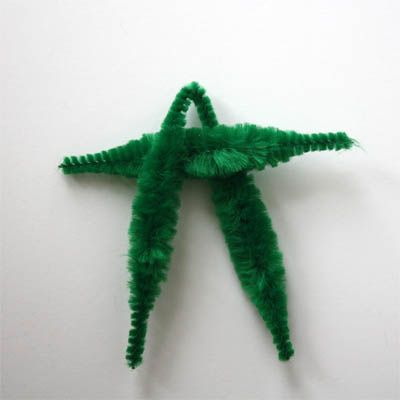 shows how to make a chenille doll! Yay!