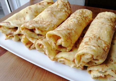 Quark pancakes without flour