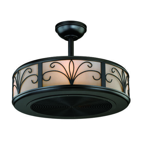 """Whoa! This is a cool ceiling fan! Turn Of The Century Athens 21"""" New Bronze Ceiling Fan"""