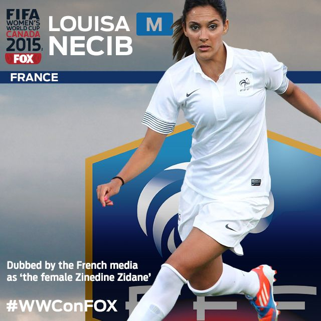 Look out for France's Louisa Necib and her play at midfield! Only 11 days  from