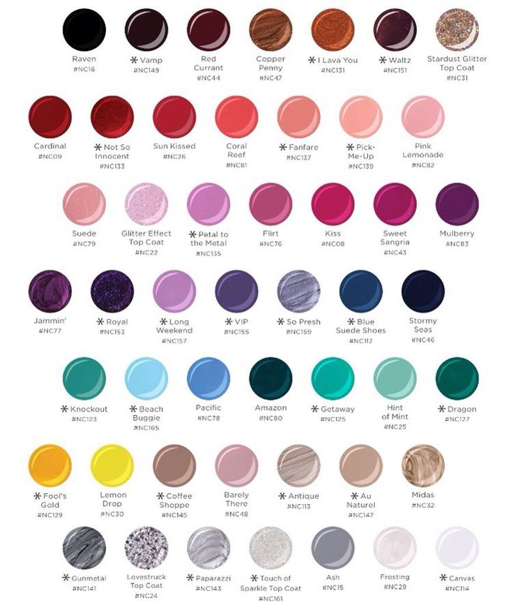Jamberry lacquer colors