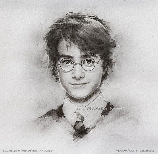 Harry Potter by Michelle-Winer.deviantart.com on @DeviantArt