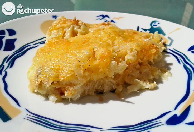 Este finde os recomiendo esta clásica receta portuguesa. Bacalao con nata o bacalhau com natas http://www.recetasderechupete.com/bacalao-con-nata-o-bacalhau-com-natas/11457/ #bacalao #derechupete