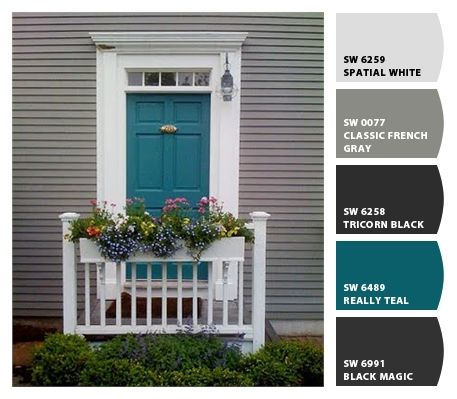 front door - Chip It! by Sherwin-Williams – Home