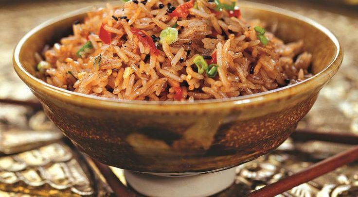 Пряный рис с чили