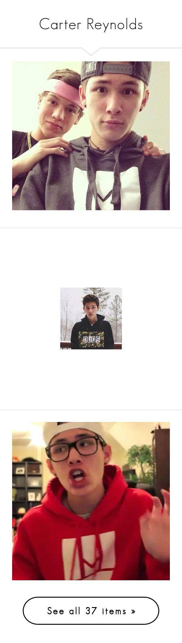 """""""Carter Reynolds"""" by ash13-vineboys ❤ liked on Polyvore featuring magcon, carter, pictures, taylor, magcon boys, boys, carter reynolds, people, youtube and pics"""