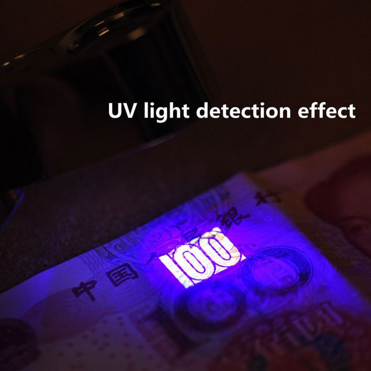 LED Magnifier Money Detect Light Iilluminated Eye Jewelry Loupe Portable Loop #Unbranded
