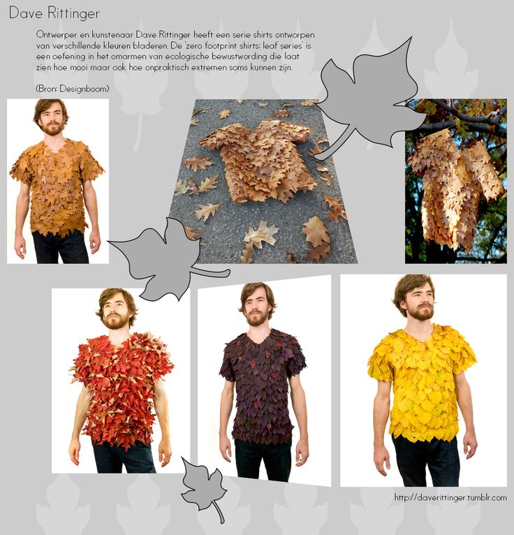 Eco shirts van Dave Rittinger http://www.artecomagazine.nl/artecomagazine_dave_rittinger.html
