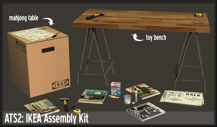 Around the Sims 2 | Objects | Other | IKEA Assembly Kit