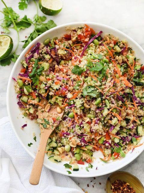 Thai Quinoa Salad | Super Restaurant