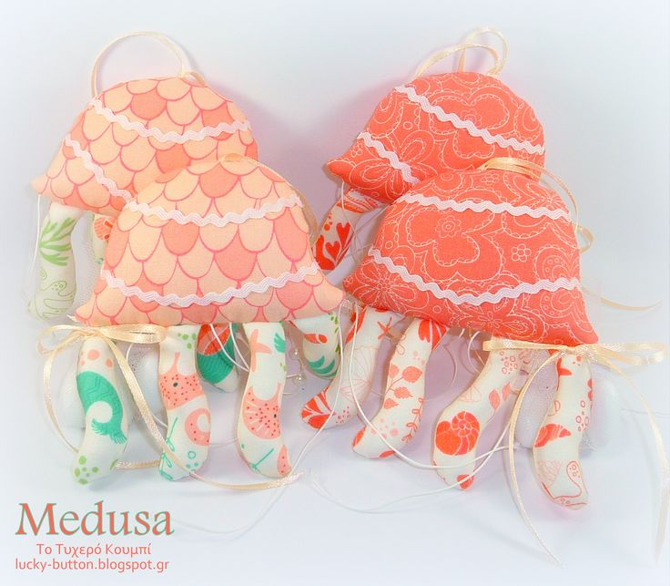 Soft toy medusa Υφασμάτινη μέδουσα