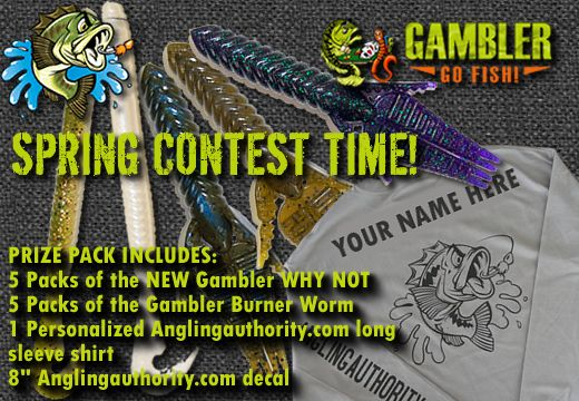 Spring Contest Time with Gambler Lures - AnglingAuthority.com