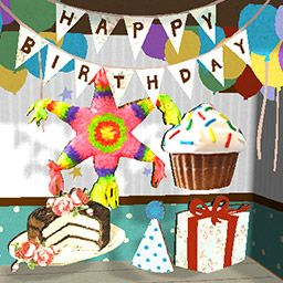 We have updated the Papercade app (iOS) to include a birthday themed content pack! Download it for FREE at https://get.papercade.com.