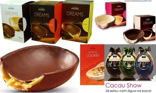 Ovos de páscoa Cacau Show – Tabela de preços 2013 - http://www.portalpower.com.br/diversao/ovos-pascoa-cacau-show-tabela-precos-lancamentos/