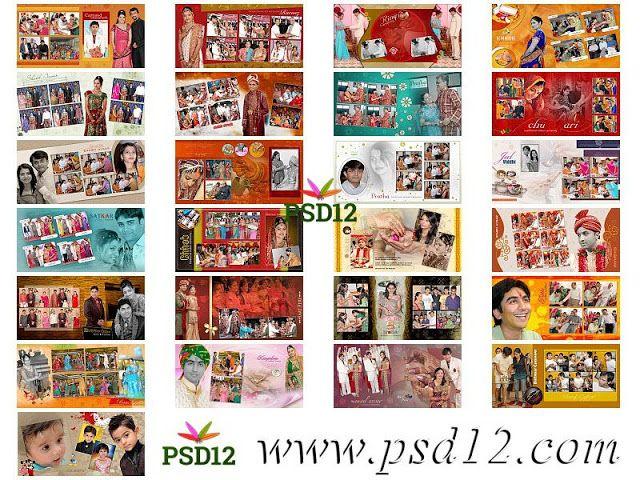 50 12x24 New Wedding Album Psd Files 2019 In 2020 Indian Wedding Album Design Wedding Album Marriage Photo Album