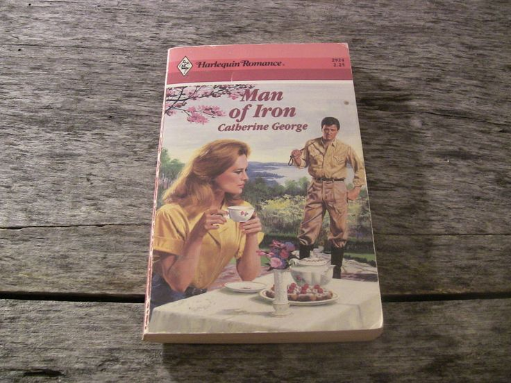 Harlequin Romance Paperback Book #2924 Man of Iron Catherine George 1988 1st Edition