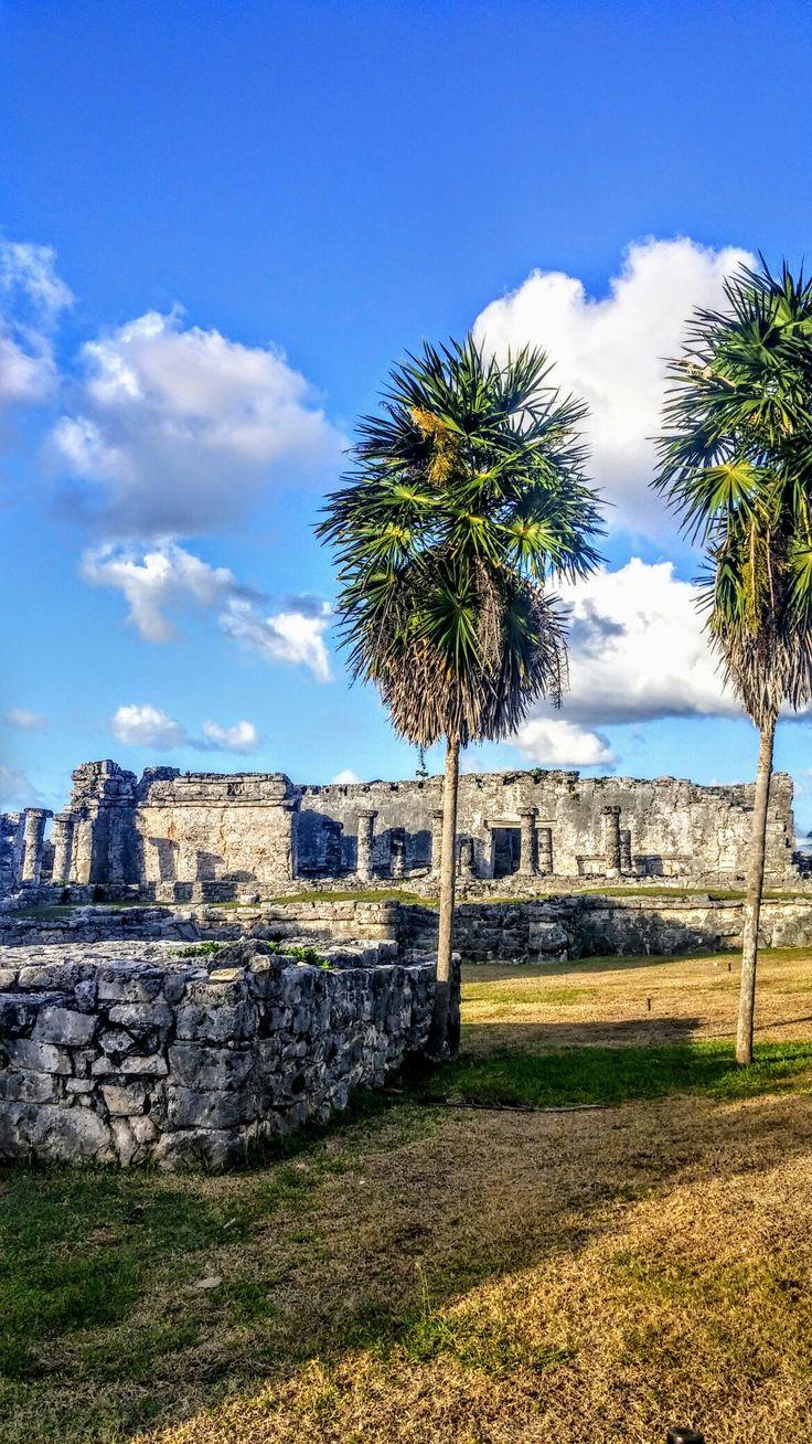 Mayan ruins ofTulumare found on the Caribbean coast of Mexico's Yucatan Peninsula.